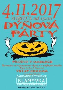 Dýňová párty 4.11.2017