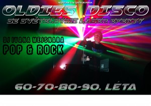 OLDIES DISCO plakat