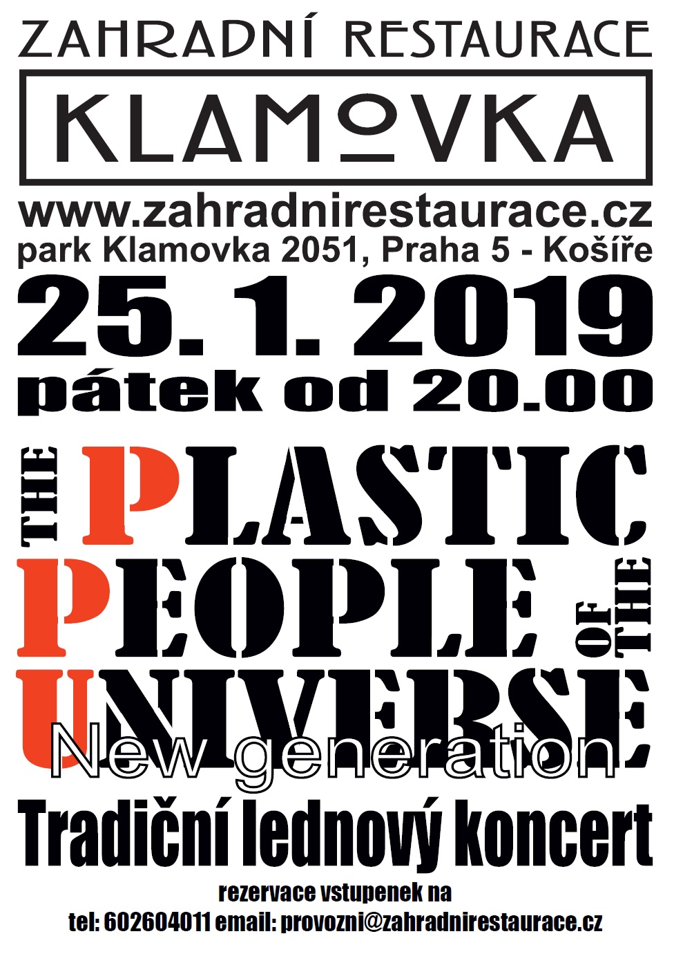 Plakát The Plastic People Of The Universe 2019