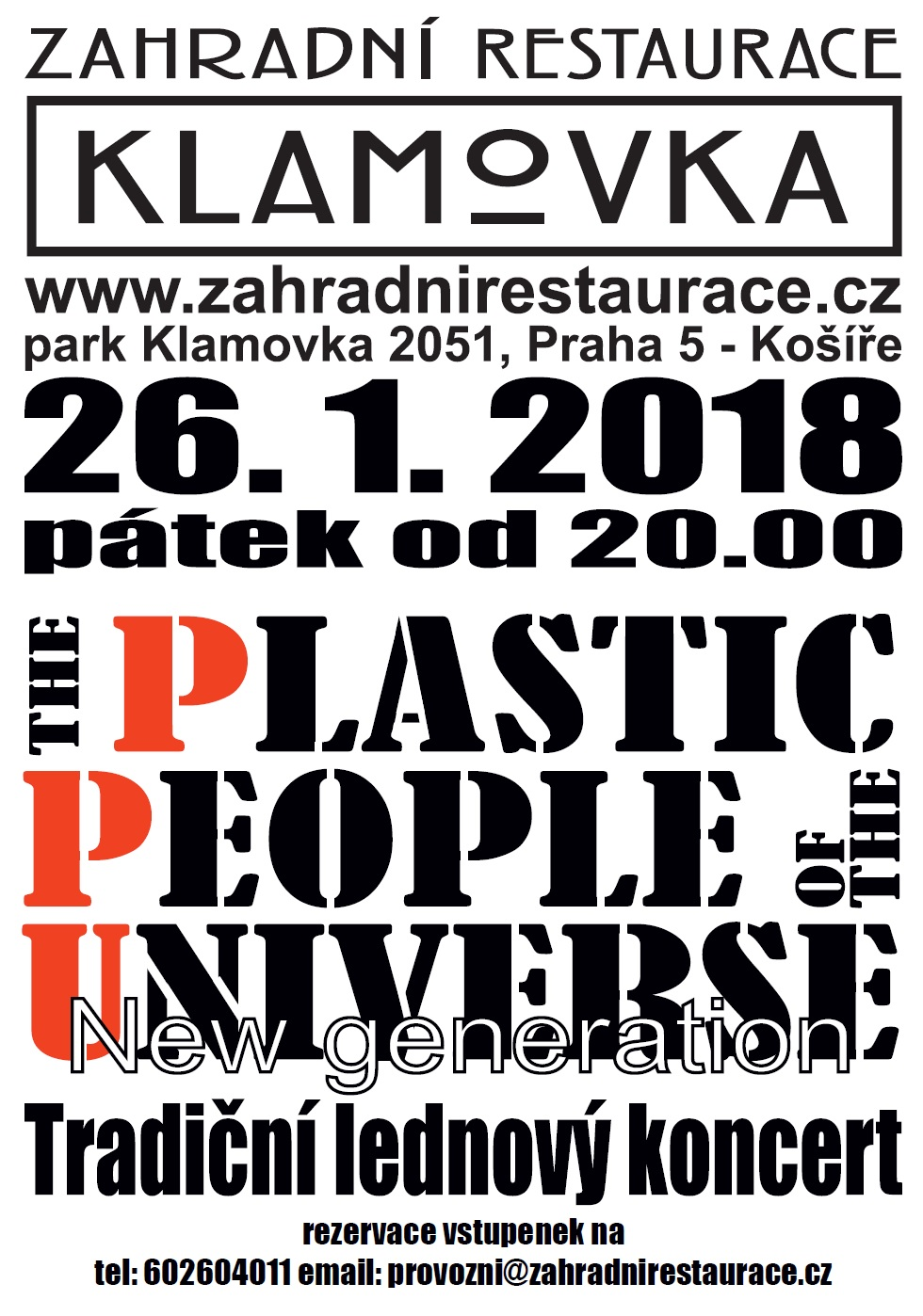 Plakat PLASTIC PEOPLE 2018