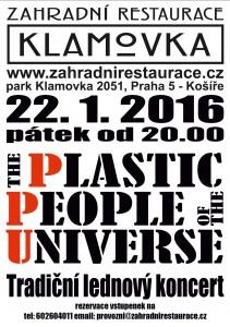 Plakat PLASTIC PEOPLE 22.1.2016