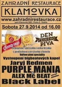 Plakat den ceskeho piva bar
