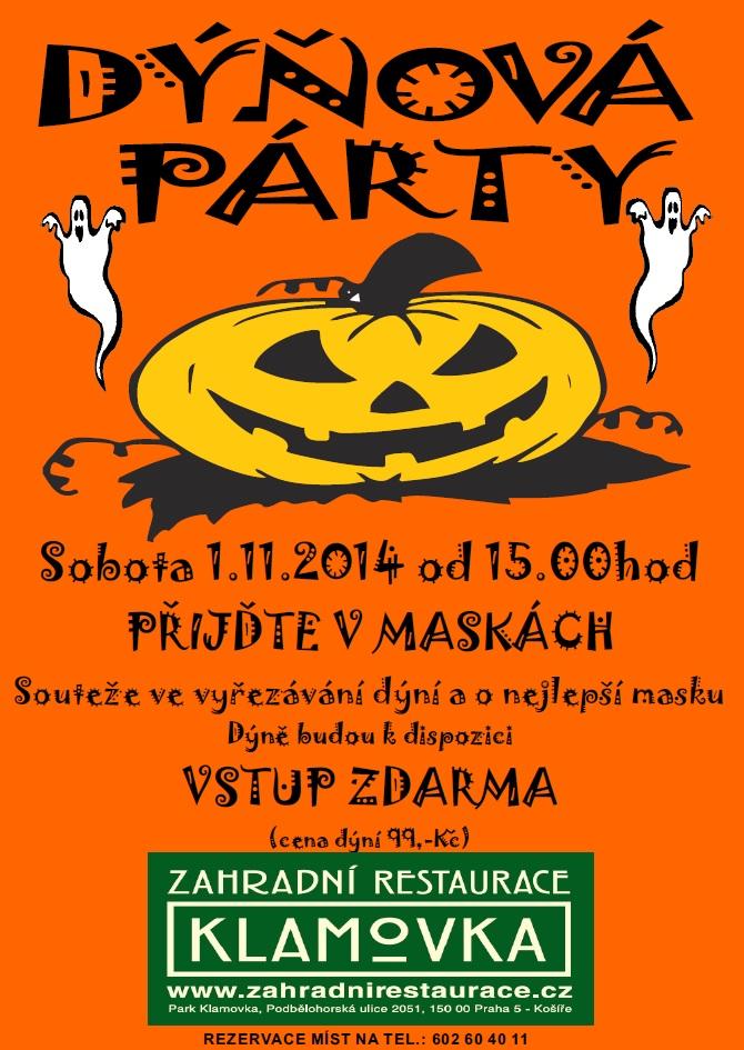 Pozvanka DYNOVA PARTY 1.11.2014
