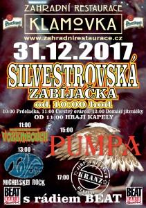 Silvestrovská zabíjačka 2017